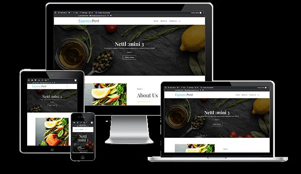Nettl Mini 3 Website