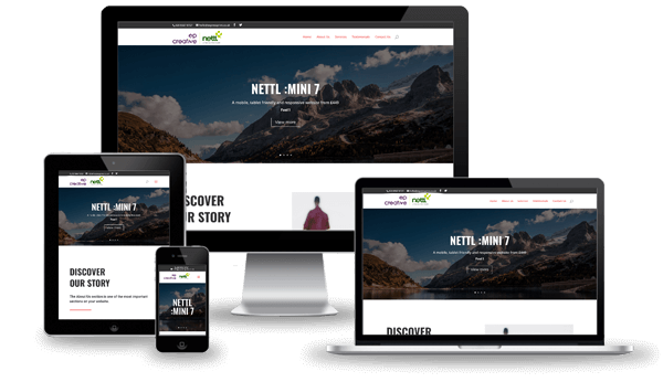 Nettl Mini 7 Website